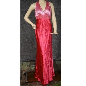Sequin Detail Gown